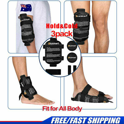 Hot&Cold Therapy Gel Ice Wrap Pack Reusable Shoulder Back Knee Leg Pain RelieIf