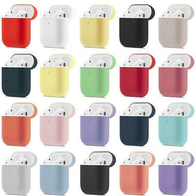 AirPods Case Protective Silicone Cover Skin For Apple Airpod 2/1 Charging Case