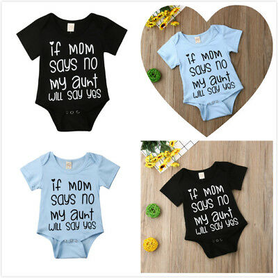 UK Seller Infant Newborn Baby Boy Girl Romper Clothes Outfit Jumpsuit Playsuit