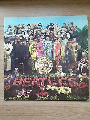 The Beatles Sgt Pepper Vinyl LP Excellent Condition UK Pressing Laminated Gtfold