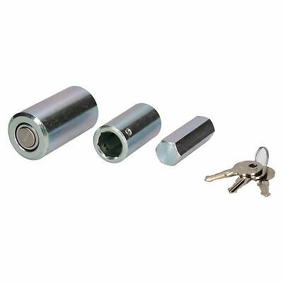 2 Pack Caravan Corner Steady Stabiliser Leg Nut Lock Insurance Approved