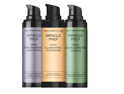 Max FACTOR X Miracle Prep Primer 30ml Brand New Seal Pack