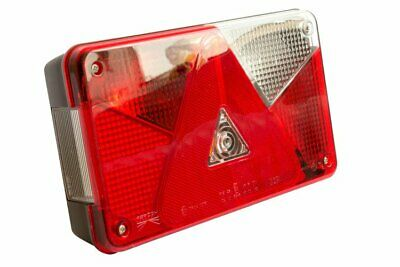 Aspock Multipoint 5 V Right Rear Trailer Light used on Brian James Brenderup
