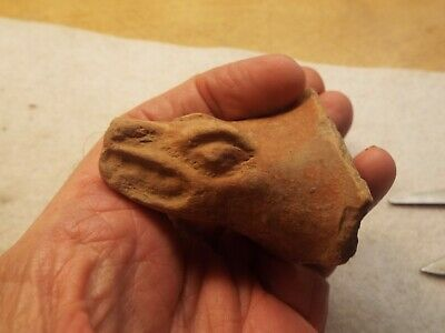 Pre Columbian ARTIFACT  ANIMAL FIGURE HEAD