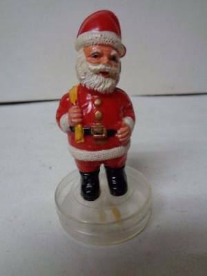"4""T - Vintage Hong Kong Santa Claus Atop Tiny Candy Container"