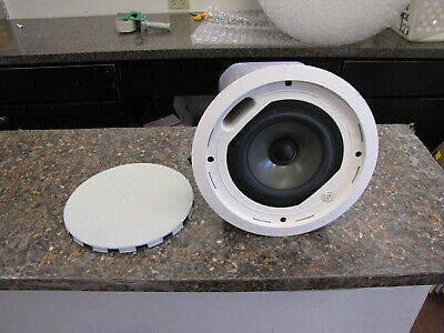 Tannoy CMS601 BM In-Ceiling Speaker Single Speaker with grille - Quantity