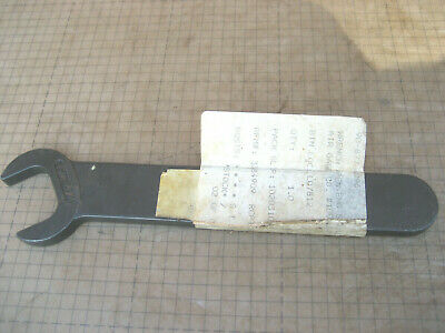 """Air Gage Co. 1002-WSP Open End Tapered Handle Wrench 1-1/8"""" Machinist tool 542X"""