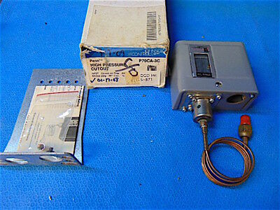 JOHNSON CONTROLS PENN-BASO P70CA-3 HIGH PRESSURE CUTOUT CONTROL