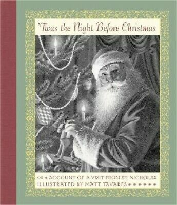 Twas the Night Before Christmas: Or Account of a Visit from St. Nicholas (Hardba