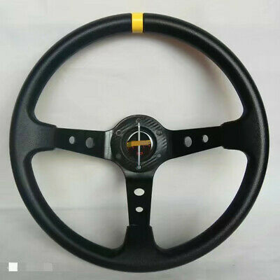 Universal ITSOK Steering Wheel 350mm PVC BLUE DEEP DISH  For MO ND UKNEST