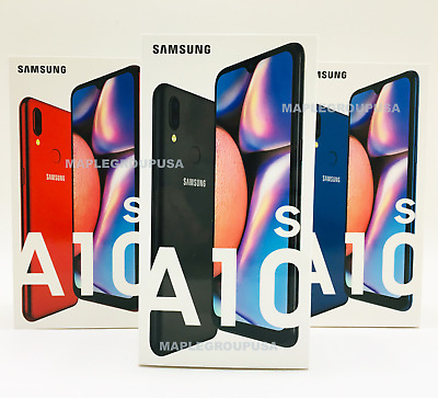"Samsung Galaxy A10S A107M - 32GB (GSM Unlocked) 6.2"" 4G LTE Black Blue Red"