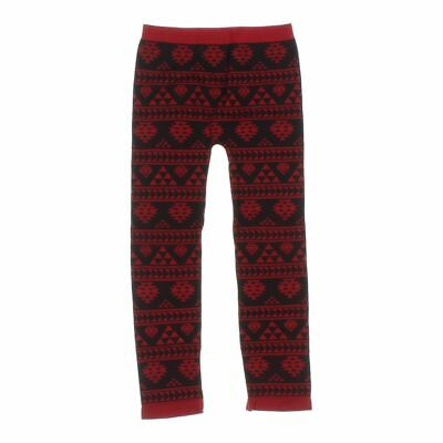 Faded Glory Baby Girls Leggings size One Size,  red,  nylon, polyester, spandex