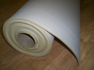 "Auto Headliner Upholstery Fabric Foam Backing 48"" x 60"" Lt Gray USPS Shipping"