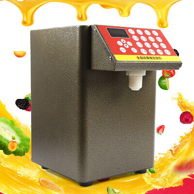 Fructose Dispenser Bubble Tea Equipment Fructose Quantitative Machine + Spoon US