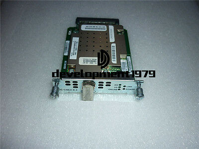1PCS Used Cisco HWIC-CABLE-D-2 Router BNC Module Tested
