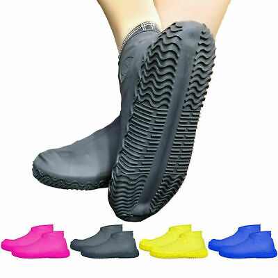 Recyclable Anti-Slip Waterproof Shoe Covers Silicone Overshoes Rain Boots Safety