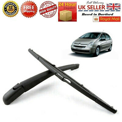 Rear Windscreen Wiper Arm /& Blade 405 mm for Peugeot 306 Hatchback 1999-2003