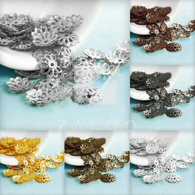 20g 307-466Stk Flower End Spacer Perles Bouchons Charm Bijoux Bijoux 1.5x8.5mm