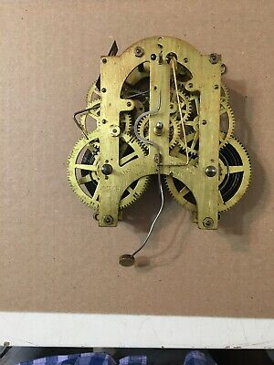 Antique Ansonia Parlor Clock Movement From King Model