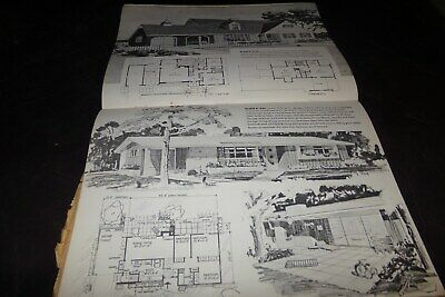 Vintage Homemasters A Book on Home Planning House Designs Ranches Split Level 58