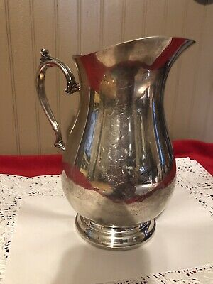 International Silver Company Ice Pitcher