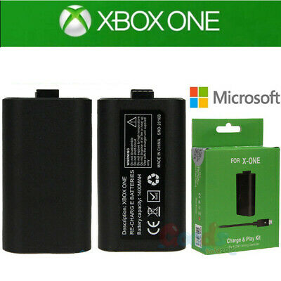 Original Rechargeable Battery Pack Play and Charge Kit for Microsoft Xbox One