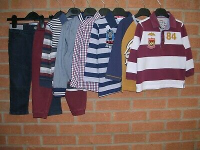 TED BAKER M&S SHERMAN TU etc Boys Bundle Jeans Tops Joggers Jumpers Age 2-3 98cm