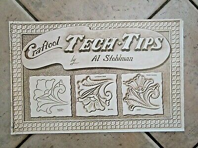 Leathercraft Book  Tech -Tips  By Al Stohlman - Buy It Now