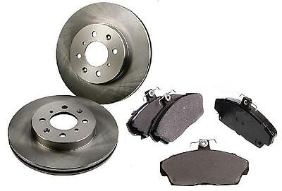 Rover Group MG ZR 1.8 120 115bhp Front Brake Pads /& Discs 262mm Vented