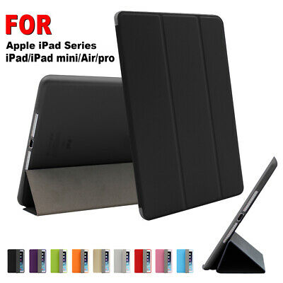 For iPad 6th Gen 9.7 Air 10.5 2019 Smart Slim Magnetic Leather Stand Case Cover!