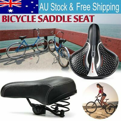 Sporty Road MTB Mountain Bike Bicycle Saddle Spring Seat Soft Pad Cushion Cover