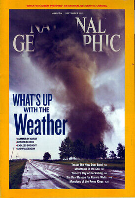 National Geographic  September  2012   Vol 222  No 3  What's Up With The Weather