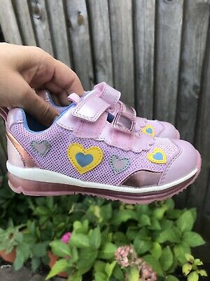 Geox Baby Nicely White//Lilac First Steps Girls Sandal 40/% OFF RRP