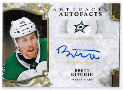 19/20 2019 UD ARTIFACTS HKY AUTOFACTS AUTOGRAPH AUTO CARDS A-XX U-Pick From List