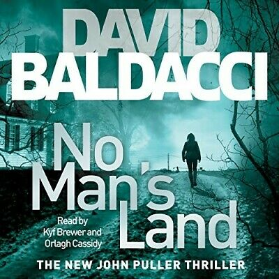 NO  MANS LAND, by David Baldacci,AUDIO BOOK,MP3,NYT Best Selling Author,