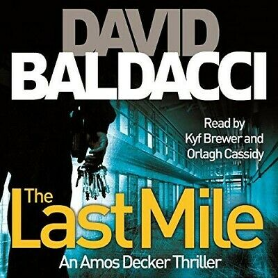 THE LAST MILE, by David Baldacci,AUDIO BOOK,MP3,NYT Best Selling Author,