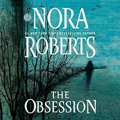 OBSESSION,By, NORA ROBERTS,AUDIO BOOK,MP3,NYT Best Selling Author,