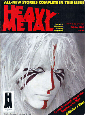 Heavy Metal Magazine Winter 1986