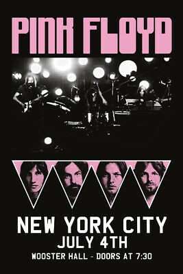 PINK FLOYD NEW YORK CONCERT POSTER, size 24x36