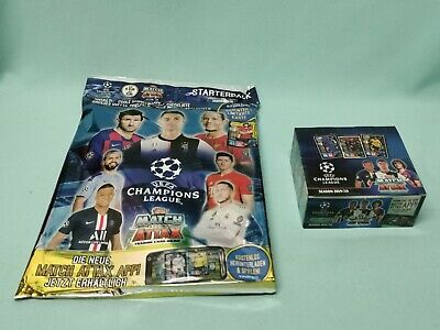 Topps Match Attax Champions League 2019/2020 Starterpack + 1 x Display 19/20