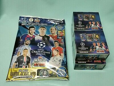 Topps Match Attax Champions League 2019/2020 Starterpack + 4 x Display 19/20