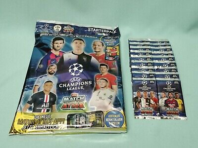 Topps Match Attax Champions League 2019/2020 Starterpack + 20 Booster 19/20