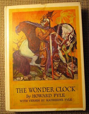 The Wonder Clock Childrens Book Written & Illustrated by Howard Pyle