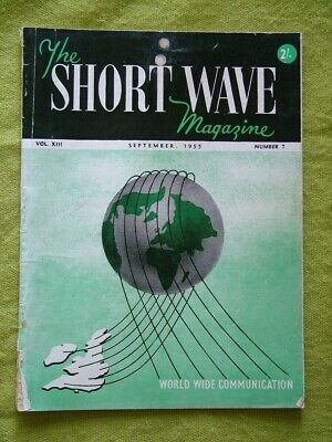 The Short Wave Magazine / Sept 1955 / Miniture All-Band Cw/Phone Transmitter