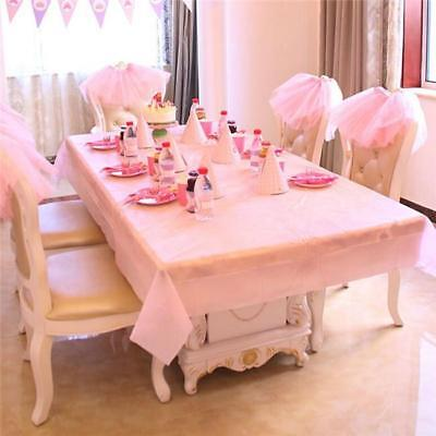 New Colour Rectangle Table Cloth Cover Wedding Birthday Party Tablecover KS