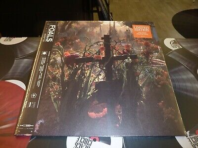 Foals - Everything Not Saved Will Be Lost Part 2 Ltd Orange Lp Mint/Sealed