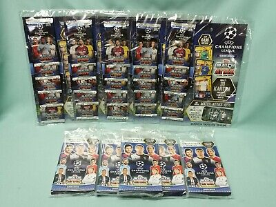 Topps Match Attax Champions League 2019/2020 5 x Multipack + 5 x Blister 19/20
