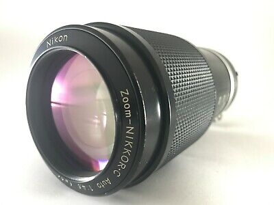 Excellent+++++ Nikon Ai Zoom Nikkor C Auto 80-200mm f/4.5 Telephoto from JAPAN