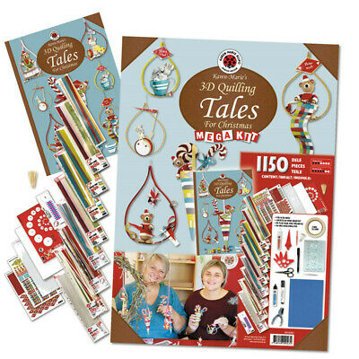 "Karen Marie Klip: Mega Kit ""Tales for Christmas"", 1150 Teile"