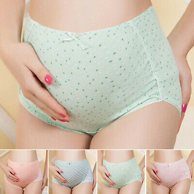 Maternity Women Panties Comfort Cotton Pregnant High Waist Briefs Underwear 2018